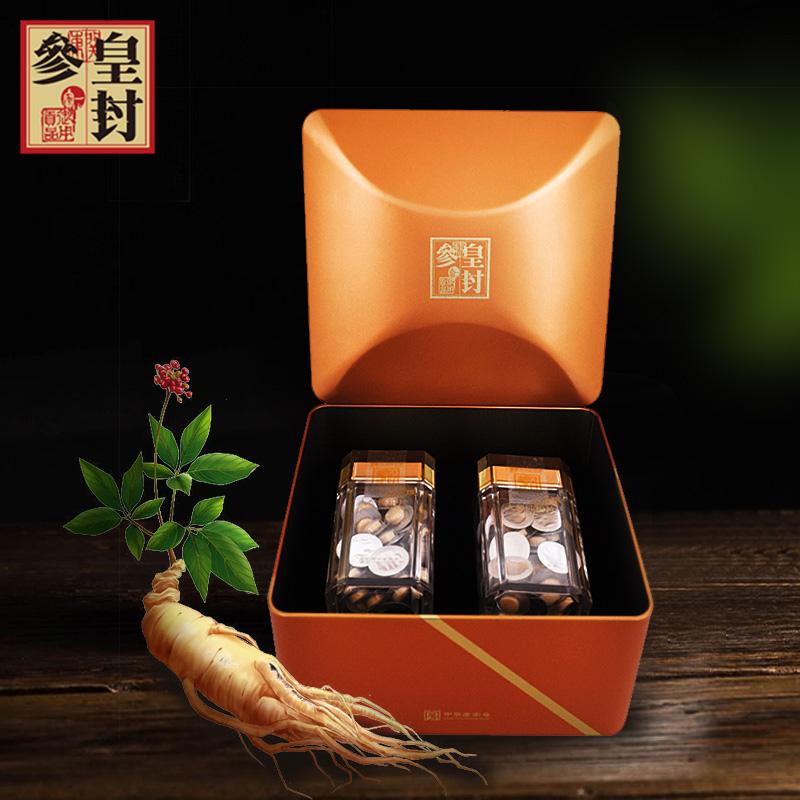 皇封参红参纯粉片21g*2瓶盒