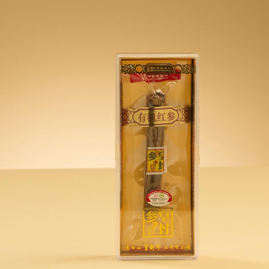 皇封参30条单支有机红参16.67g盒