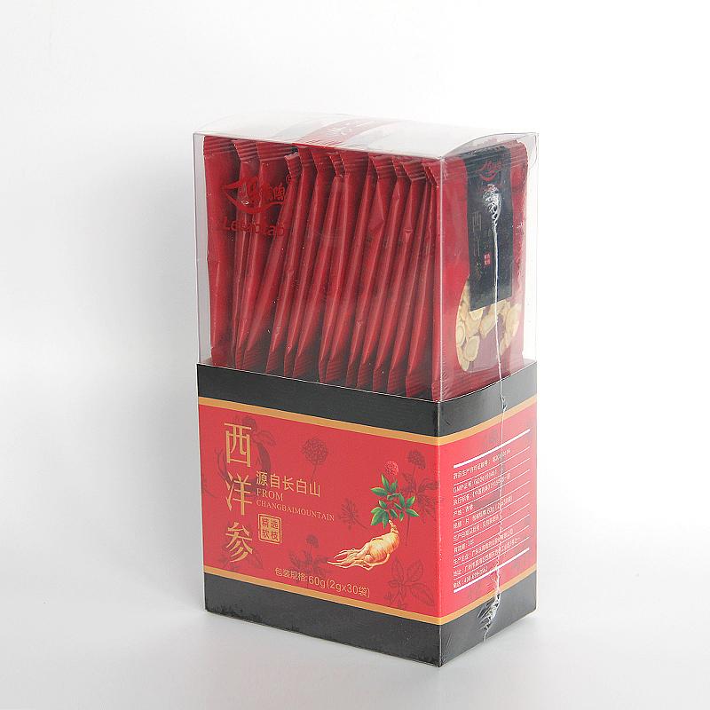 乐陶陶 西洋参切片花旗参含片 2g*30袋盒