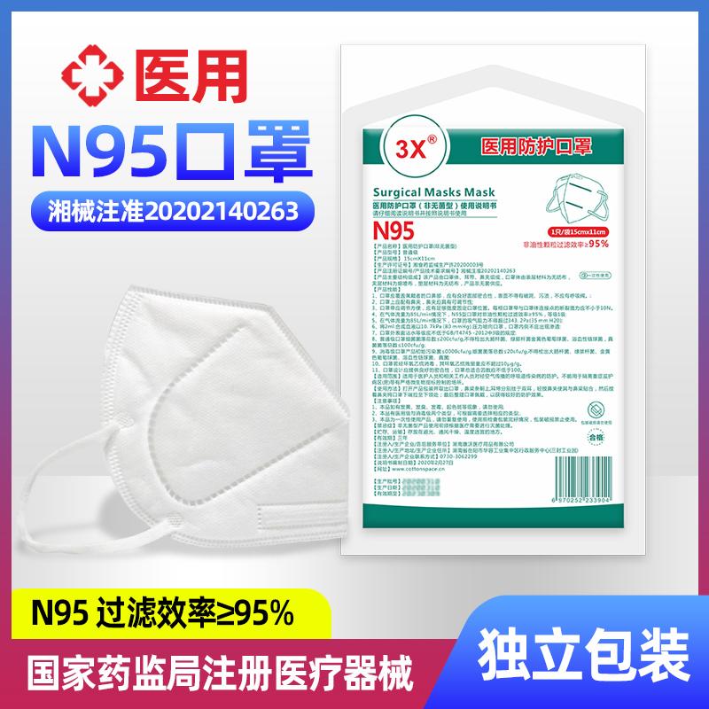 医用防护口罩(非无菌型)3X(N95)