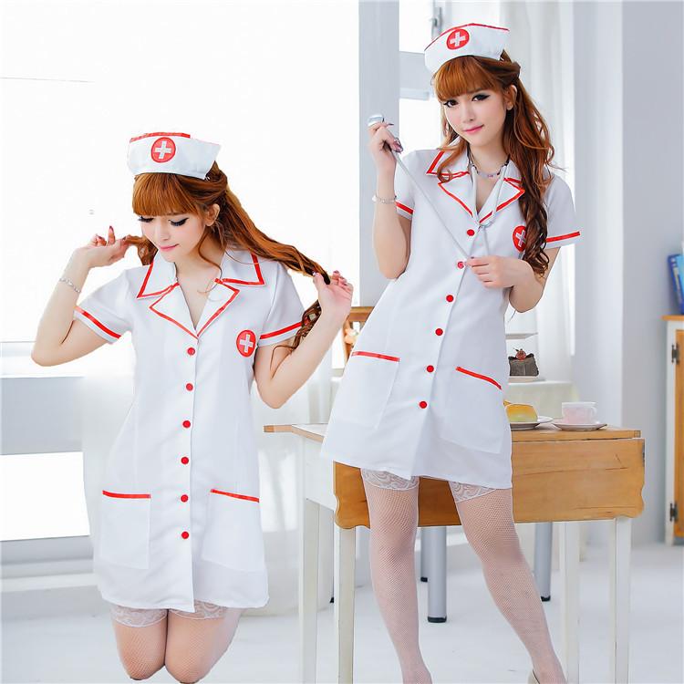 情趣內衣 性感護士醫生制服三點連體衣