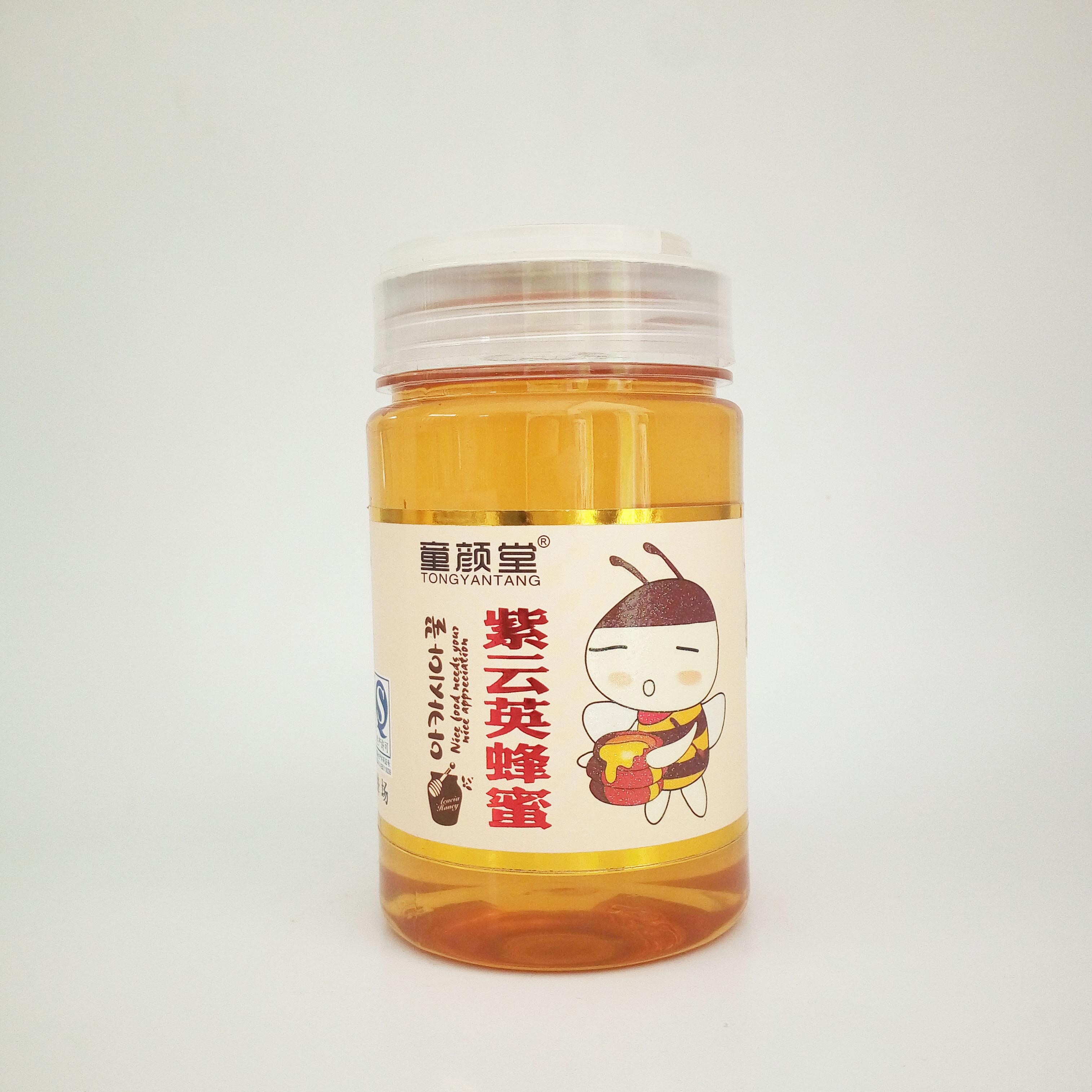 童颜堂紫云英蜂蜜
