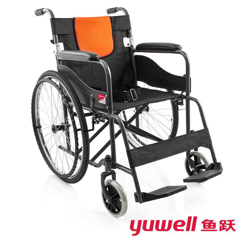 鱼跃手动轮椅车H050C