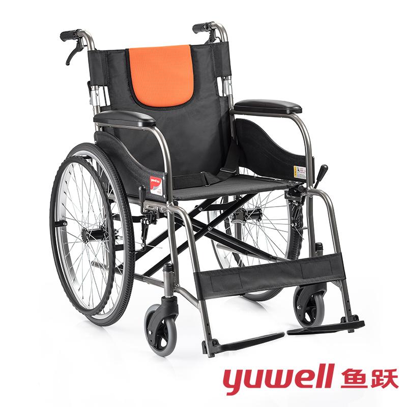 鱼跃手动轮椅车H062C
