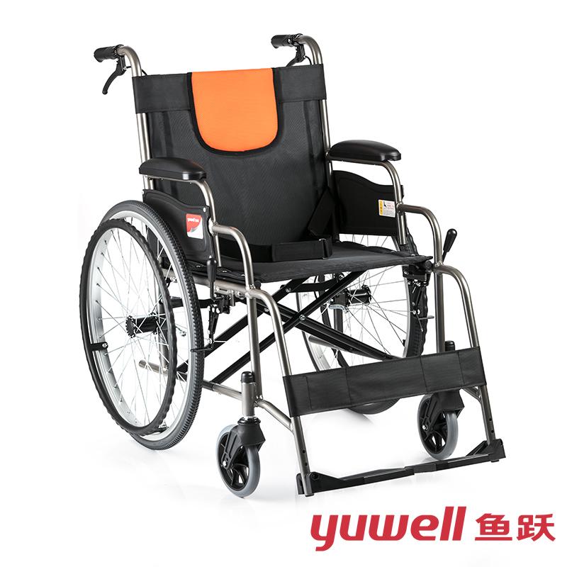 鱼跃手动轮椅车H062