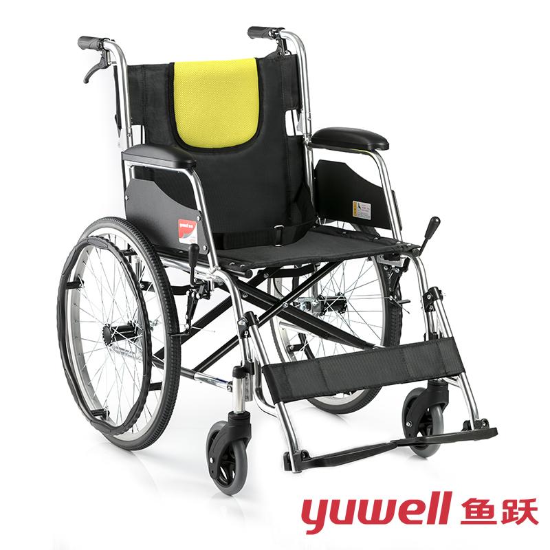 鱼跃手动轮椅车H053C