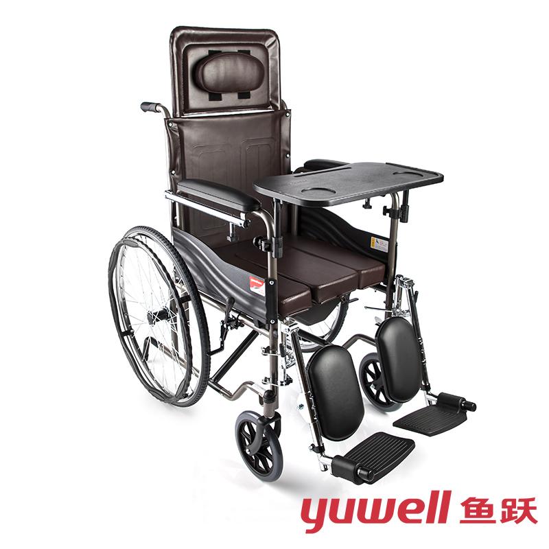 鱼跃手动轮椅车H059B