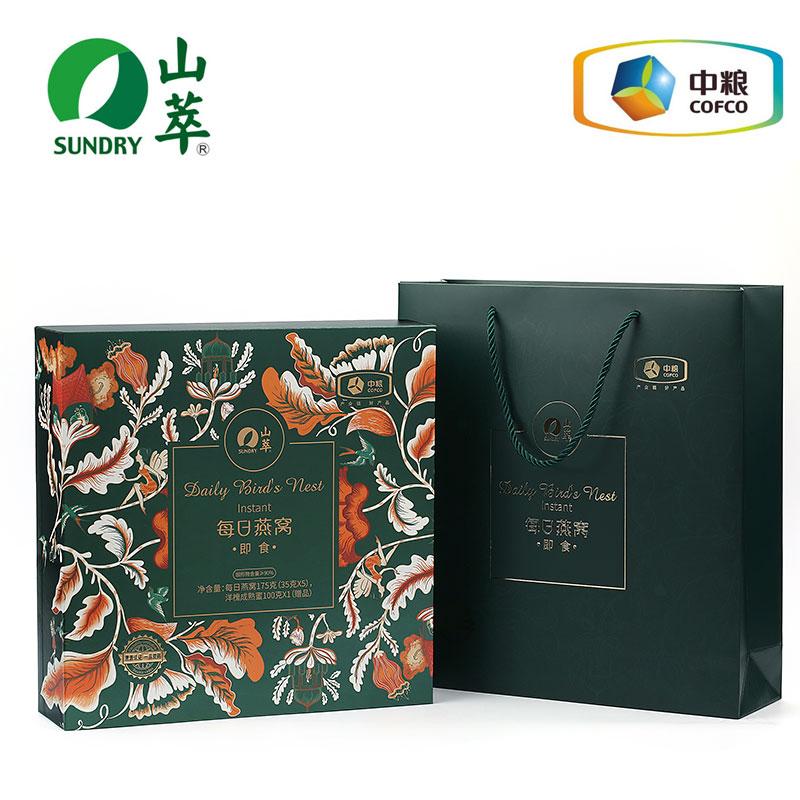 中粮 山萃每日燕窝175g(35g*5瓶)礼盒