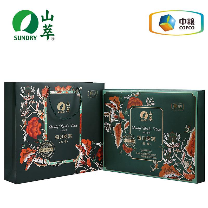 中粮 山萃每日燕窝490g(70g*7瓶)礼盒
