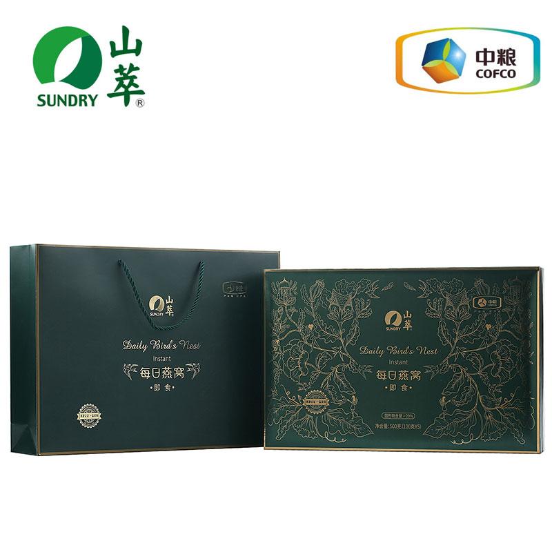 中粮 山萃每日燕窝500g(100g*5瓶)礼盒