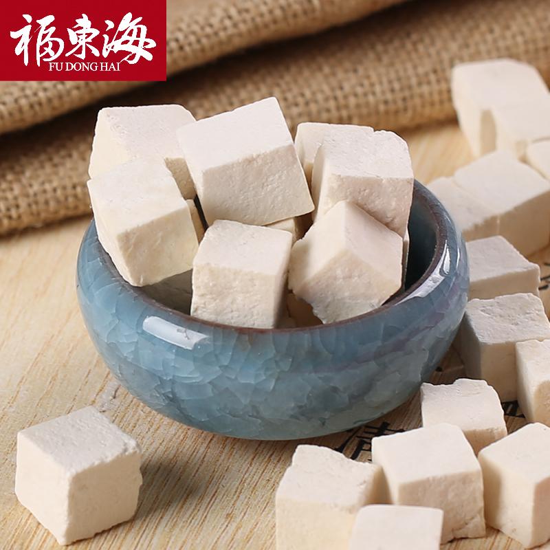 福東海 茯苓 白茯苓 茯苓丁干貨 500克罐裝