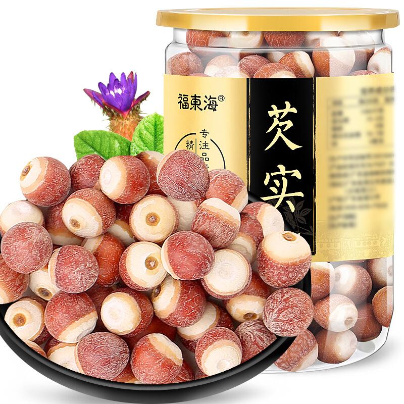 福東海 芡實 圓芡實 200克罐裝