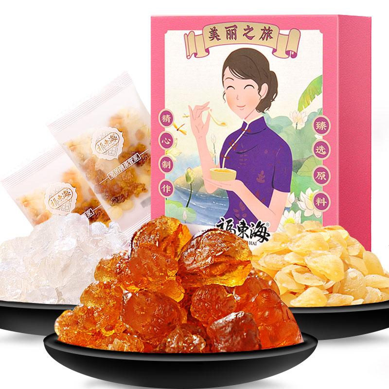 福東海 桃膠雪蓮子雪燕組合 150克禮盒裝