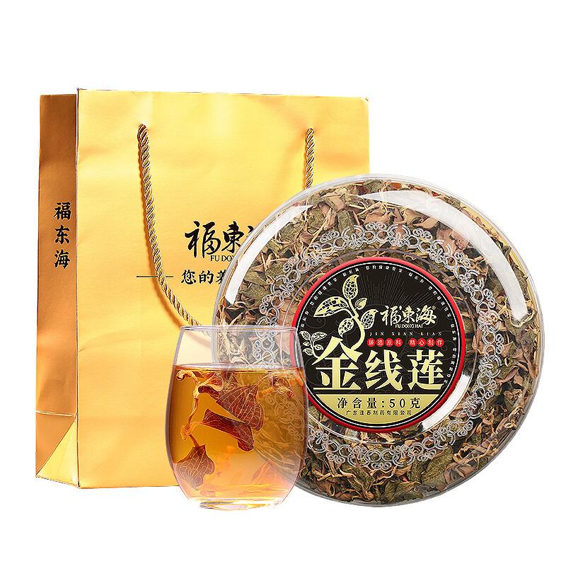 福東海 金線蓮 金線蓮茶 50克禮盒裝