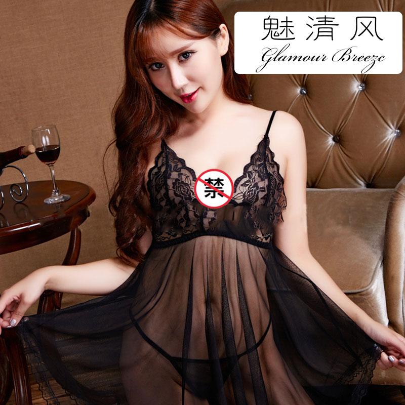 情趣制服睡裙 2443691性感黑纱睡裙