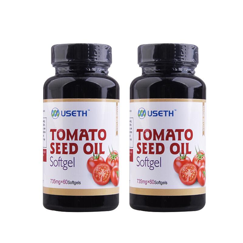 美国进口优氏番茄籽油软胶囊