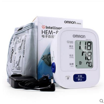 上臂式电子血压计HEM-8712