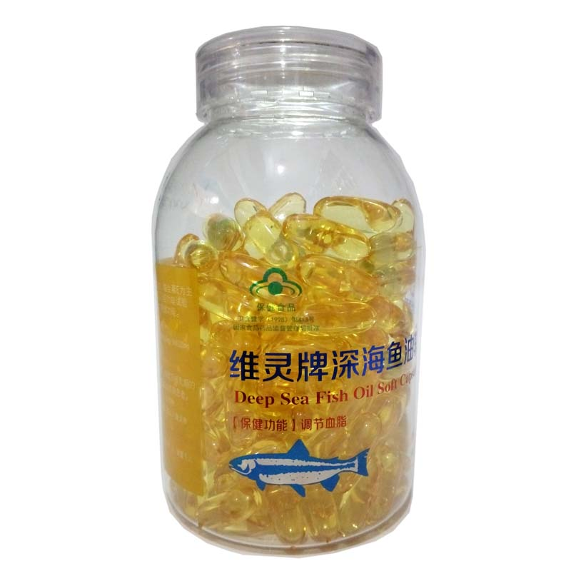 维灵牌深海鱼油软胶囊