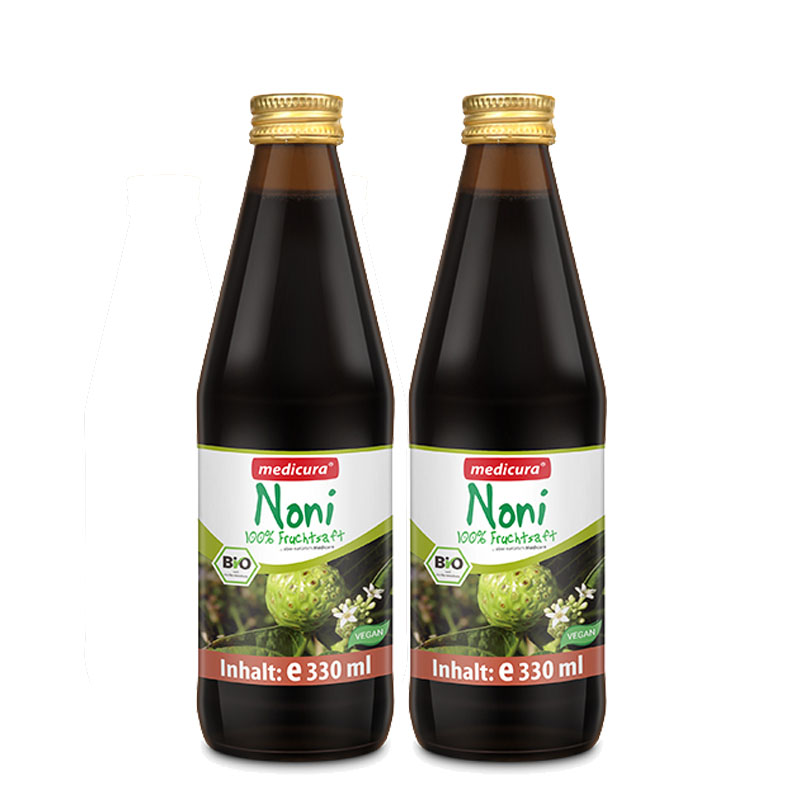 德国进口 每德Medicura诺丽果汁 诺丽果酵素原液 330ml瘦身减肥 清肠排毒 美容养颜