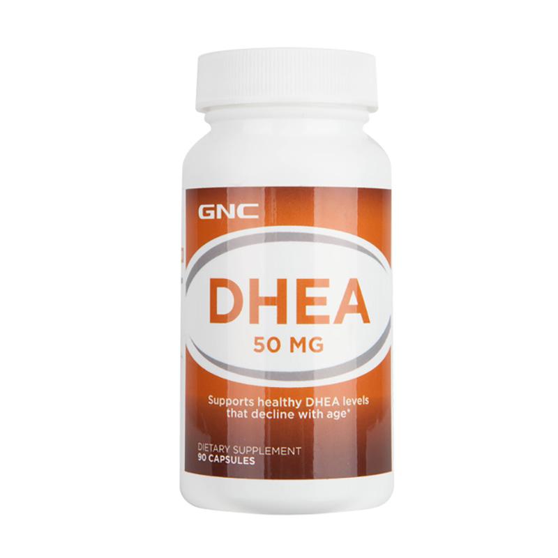 健安喜GNC DHEA青春素 90粒 備孕助孕 延緩衰老