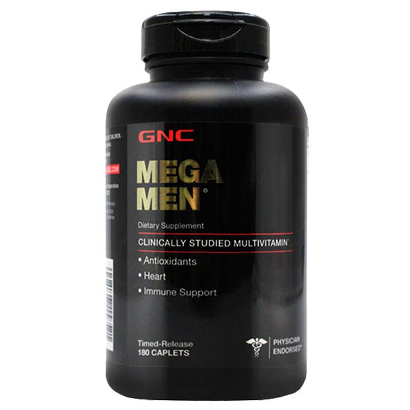 健安喜GNC 男士复合多种维生素矿物质缓释片180粒