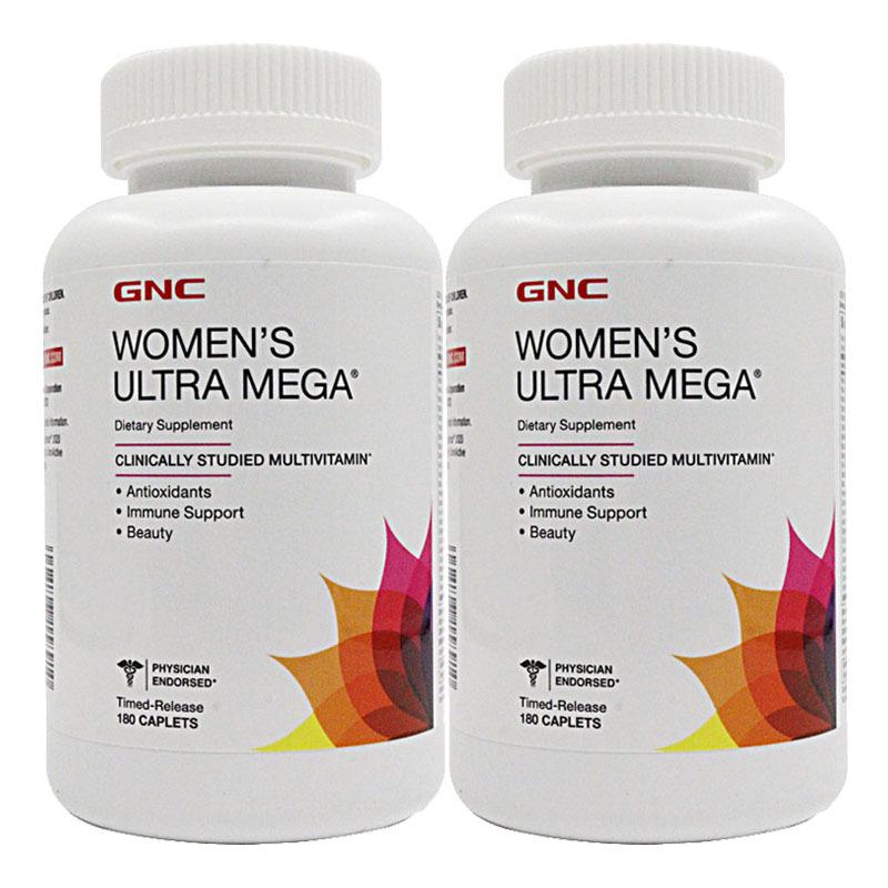 健安喜GNC女性综合维生素 矿物质 复合维生素 180粒