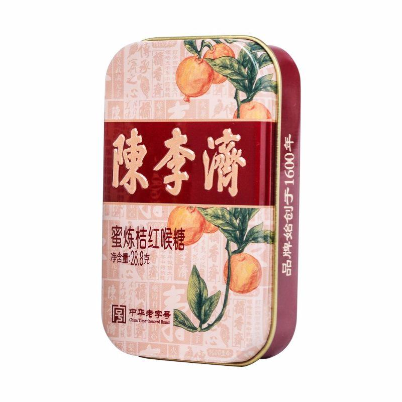 陈李济 蜜炼桔红喉糖