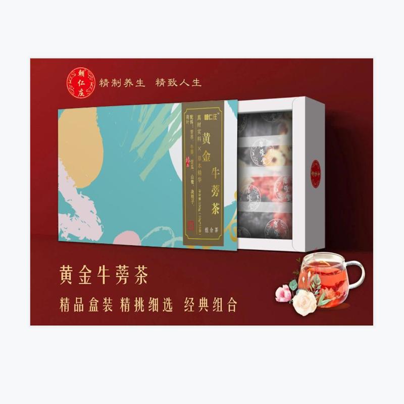 朝仁莊 黃金牛蒡茶