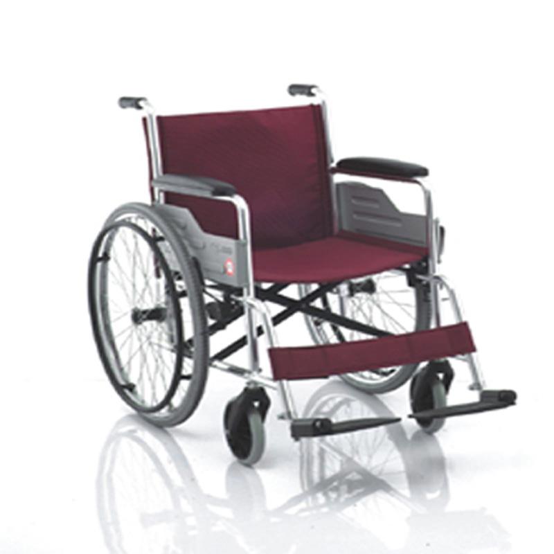 鱼跃手动轮椅车软座铝合金H033