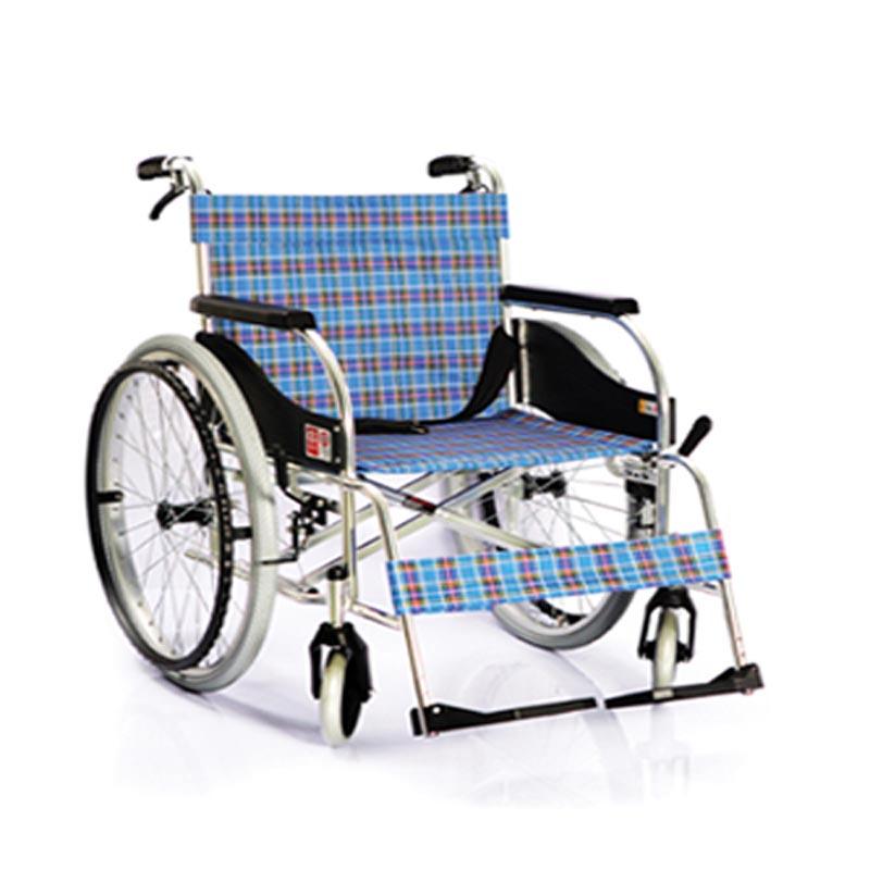 鱼跃手动轮椅车铝合金4000A