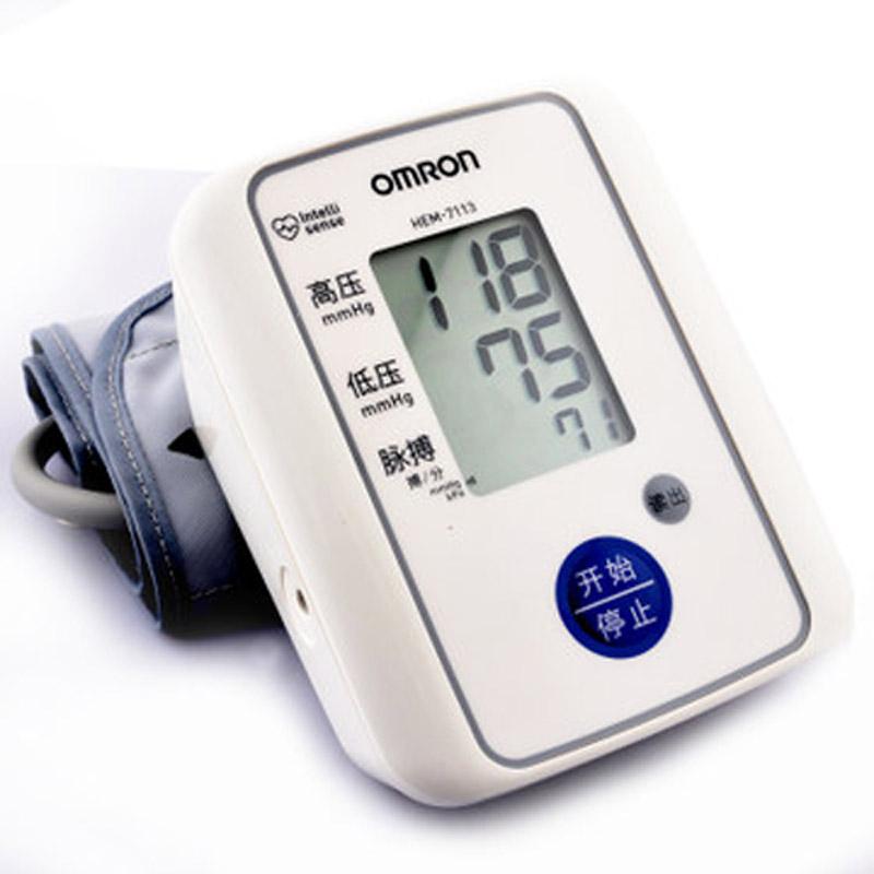 欧姆龙电子血压计HEM-7113