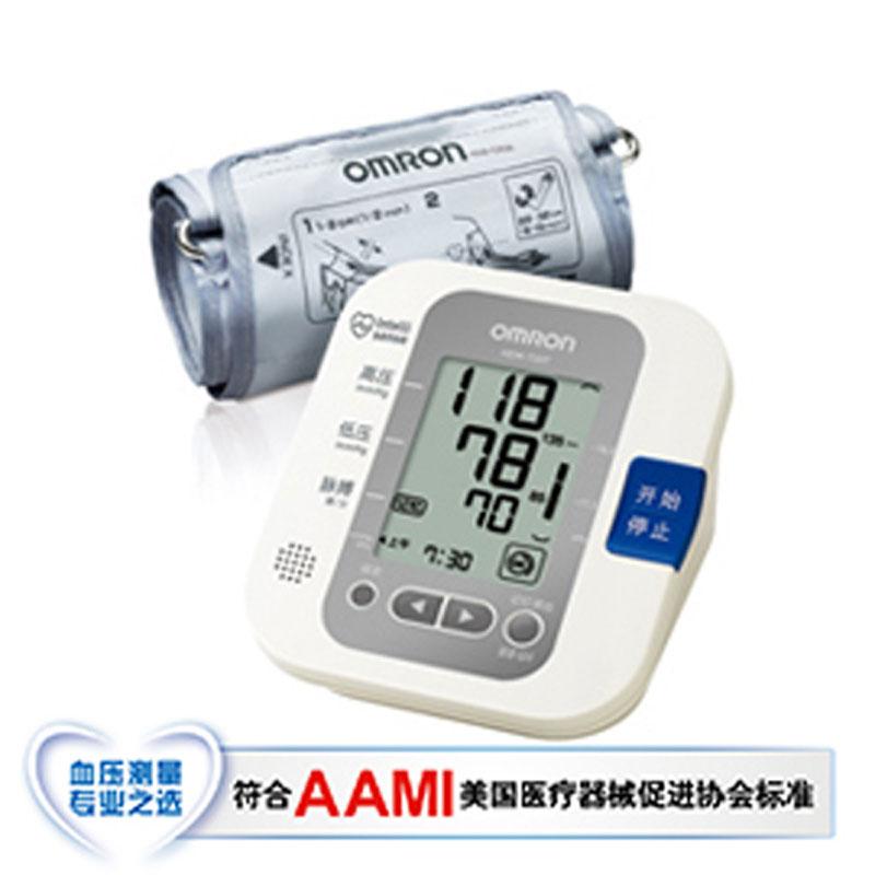 欧姆龙电子血压计HEM-7207 上臂式