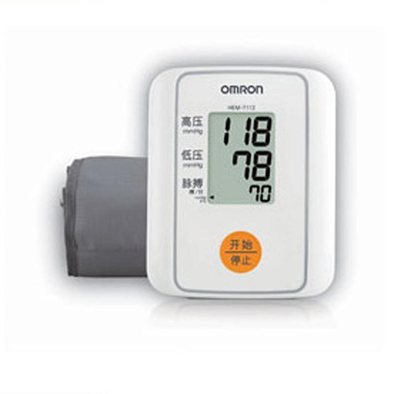 欧姆龙电子血压计HEM-7112 上臂式