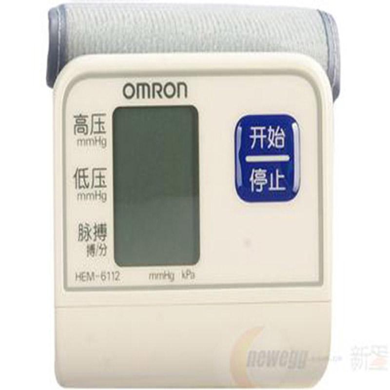 欧姆龙智能电子血压计HEM-6112 手腕式