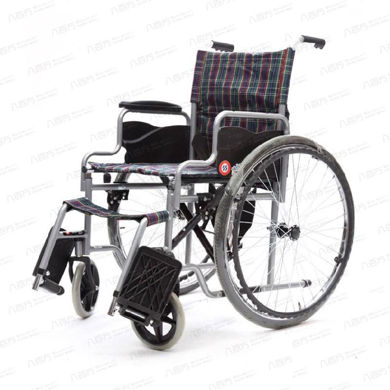 鱼跃 手动轮椅车 H006 轻便 可折叠 助行器 老年人 残疾人