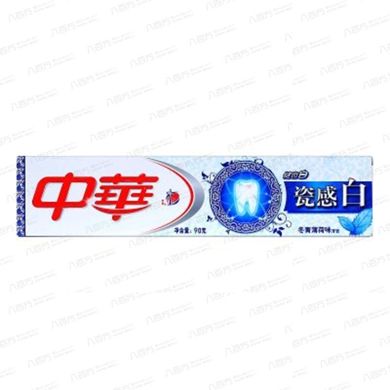 中华瓷感白牙膏