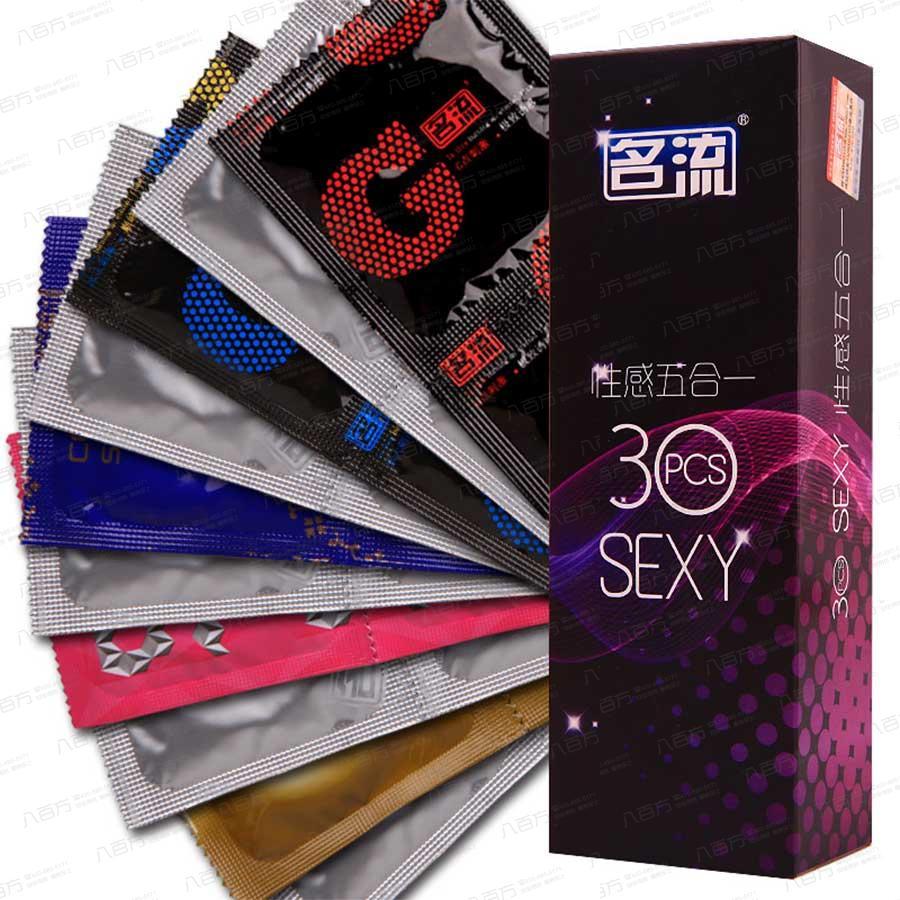 【避孕套】名流 性感五合一 安全避孕套