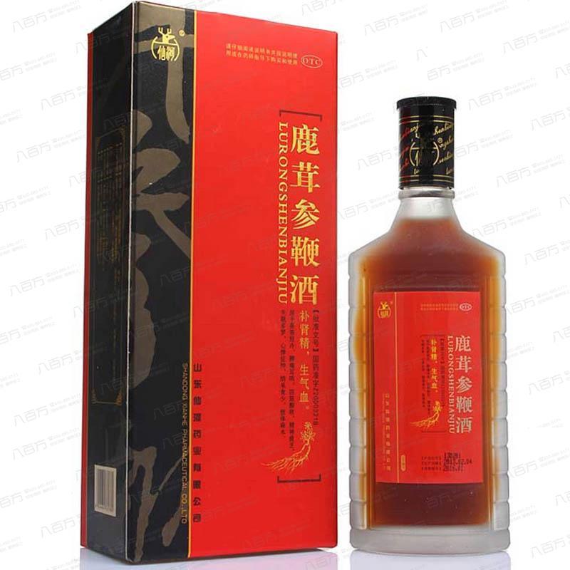 鹿茸参鞭酒
