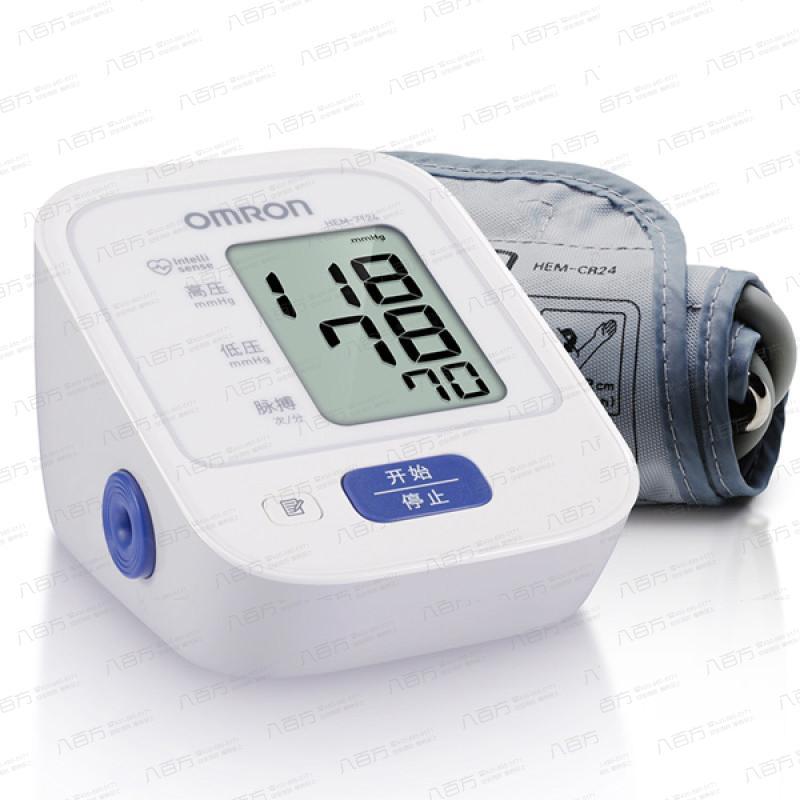 欧姆龙 电子血压计HEM-7124 家用上臂式高血压测量仪 全自动血压仪