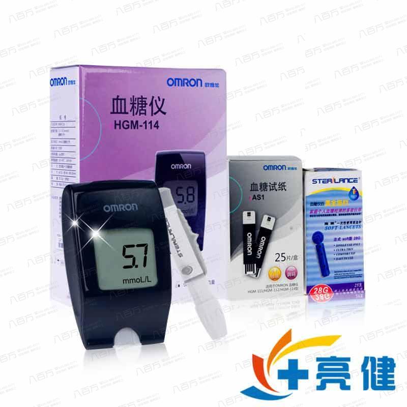 欧姆龙家用血糖仪HGM-114免调码