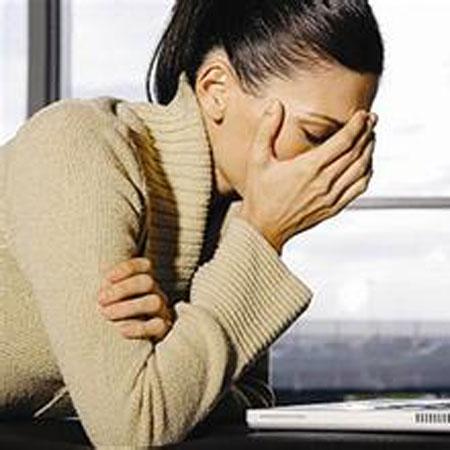 精神压力大是导致闭经的常见原因