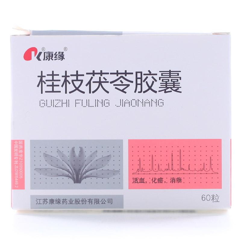 桂枝茯苓胶囊0.31g*10粒*3板*2袋/盒