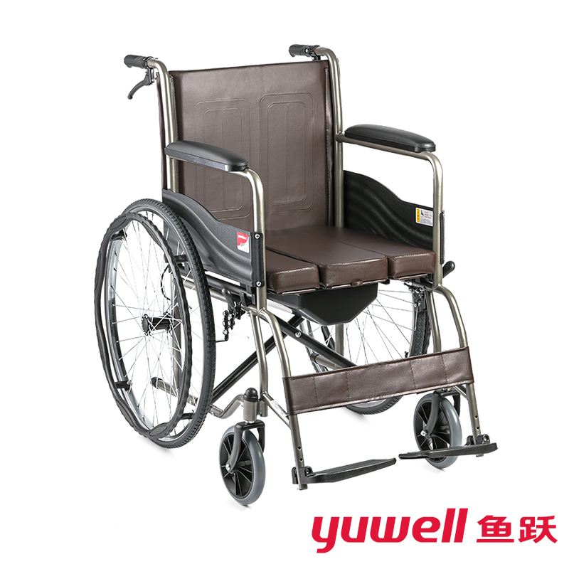 鱼跃手动轮椅车贬058叠