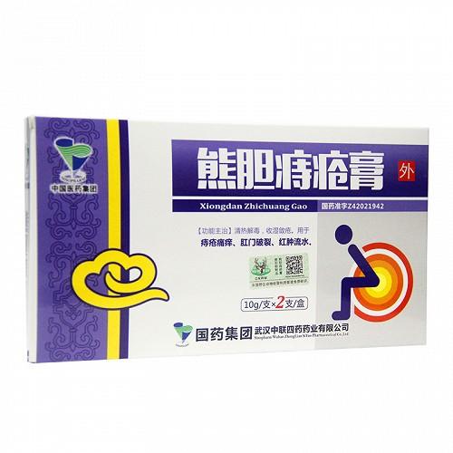 中联 熊胆痔疮膏 10g