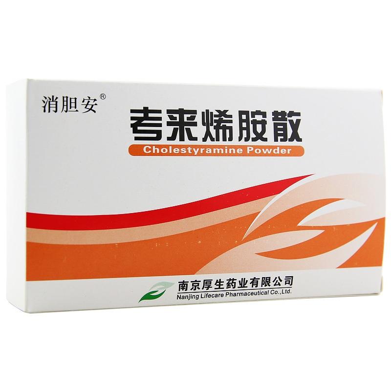 【沁心春】考来烯胺散 (4克×12袋 )-南京厚生