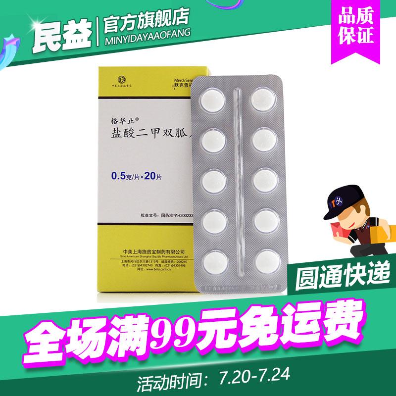 【格華止】鹽酸二甲雙胍片