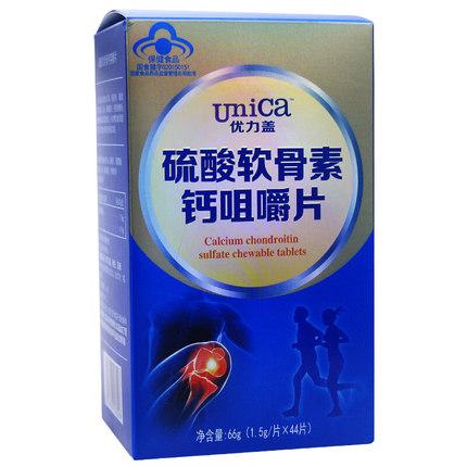 硫酸软骨素钙咀嚼片(优力盖)