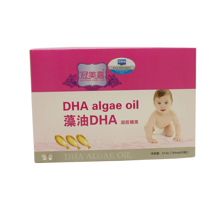 冠美嘉 藻油DHA凝胶糖果