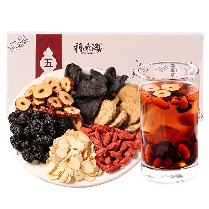 福东海 五宝茶 250克装 八宝花茶组合红枣桂圆枸杞