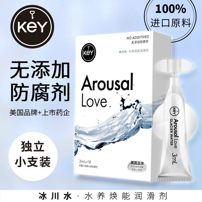 美國KeY人體水溶性潤滑劑男女潤滑液夫妻房事潤滑油情趣成人用品